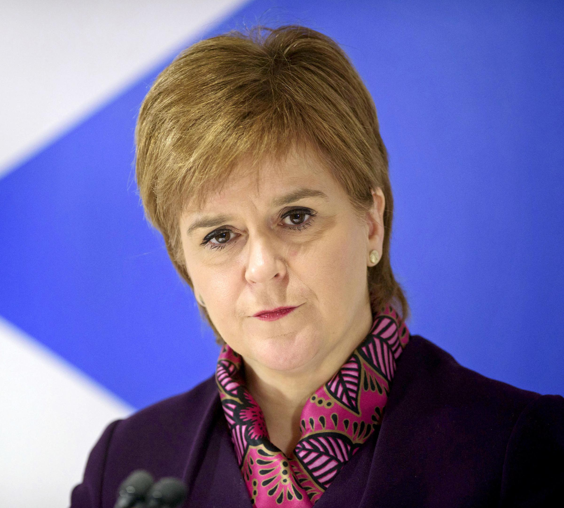 File photo dated 15/01/18 of the Scottish First Minister Nicola Sturgeon, as Theresa May has dismissed Scottish Government plans to bring in their own Brexit continuity bill as