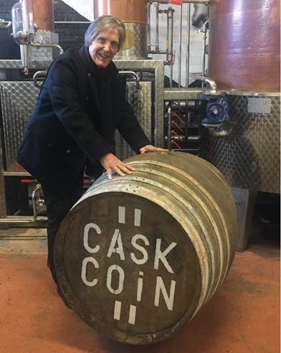 CaskCoin has been launched by whisky boss Ricky Christie.