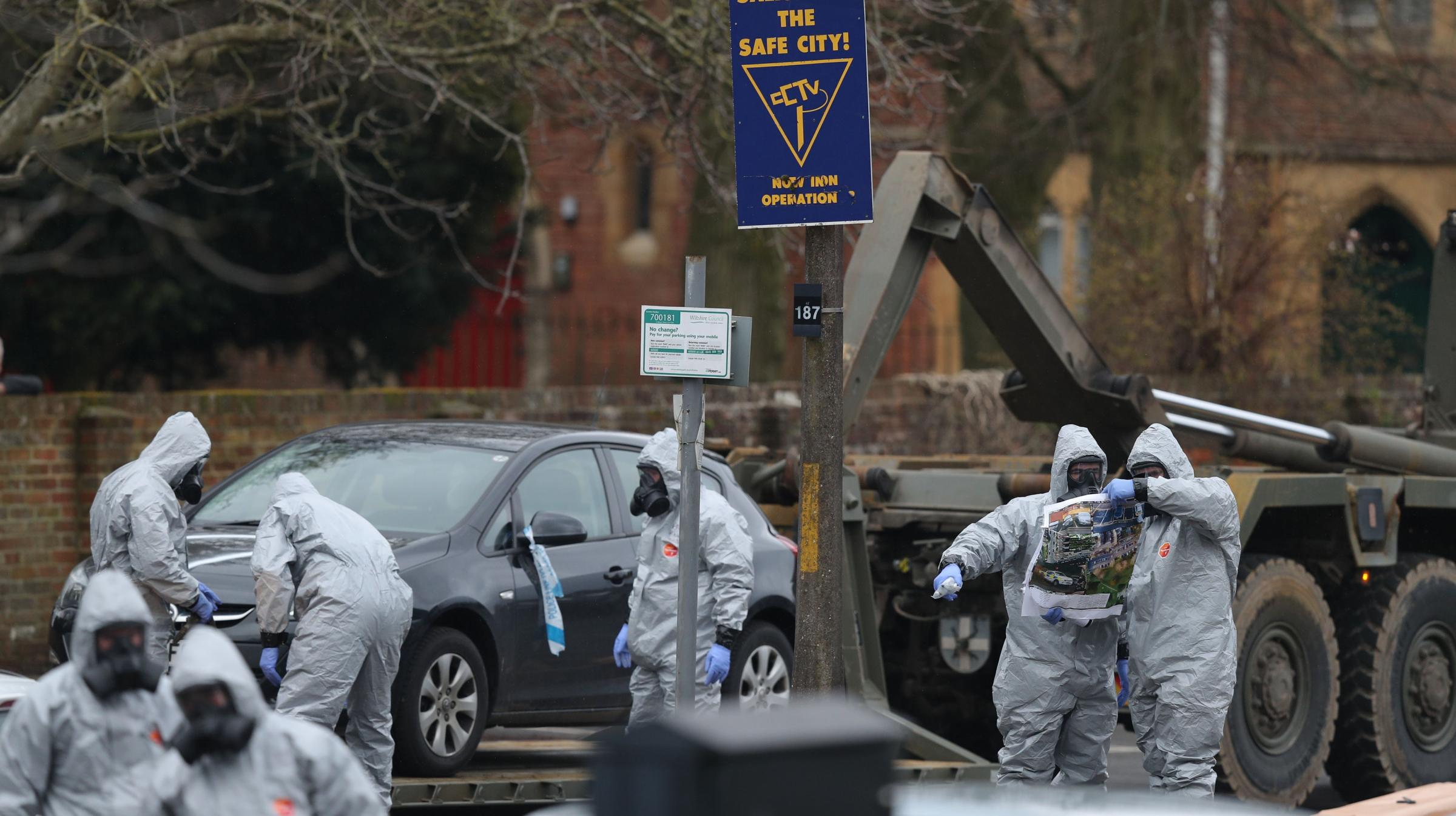 Nerve agent in Salisbury attack 'clearly came from Russia', says Tillerson