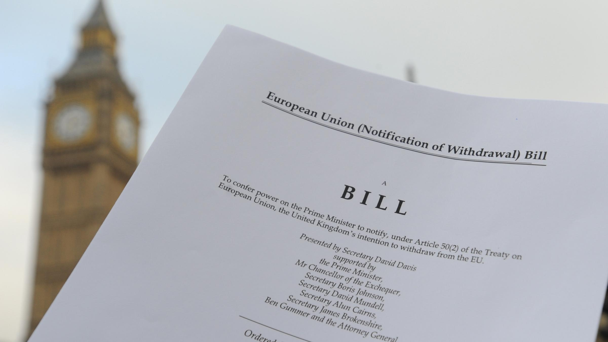 Marathon Brexit Bill debate sees peers push through until early hours