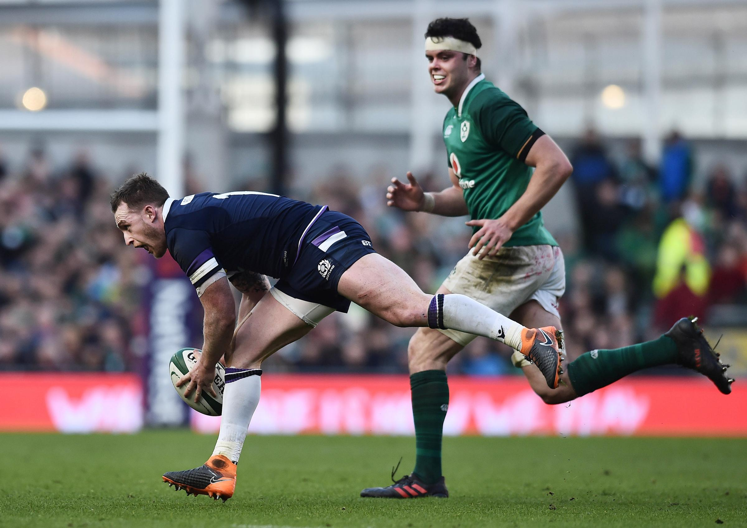 Two-time player of the championship Stuart Hogg was among the culprits as Scotland spurned chances