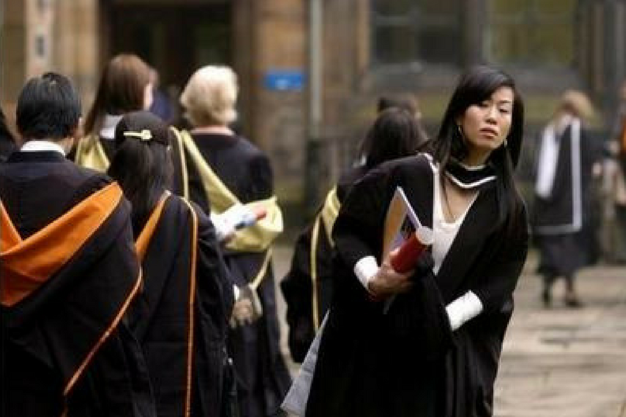 Scottish universities are concerned visa restrictions will damage their ability to recruit overseas students