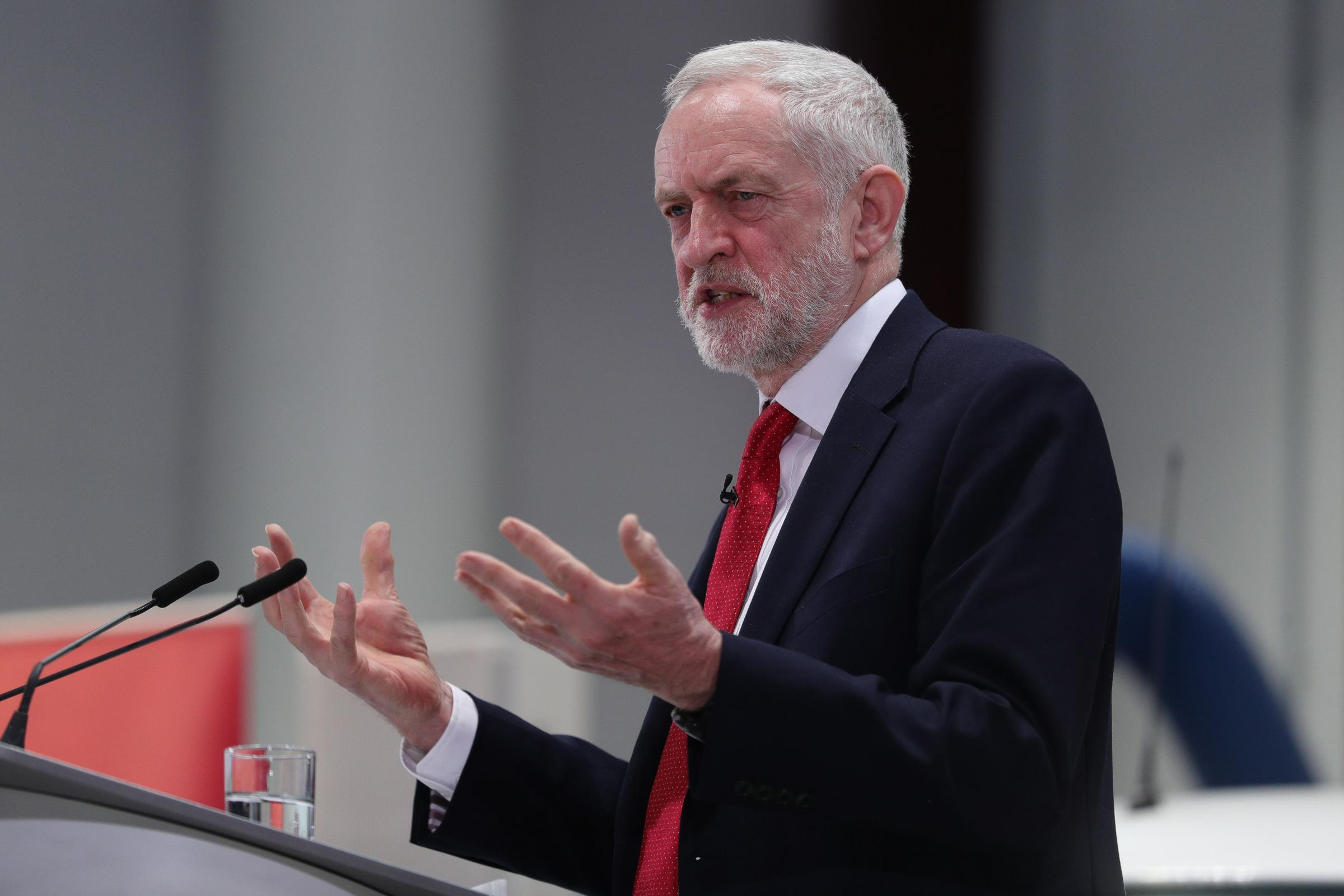 Labour leader Jeremy Corbyn was criticised for his remarks about