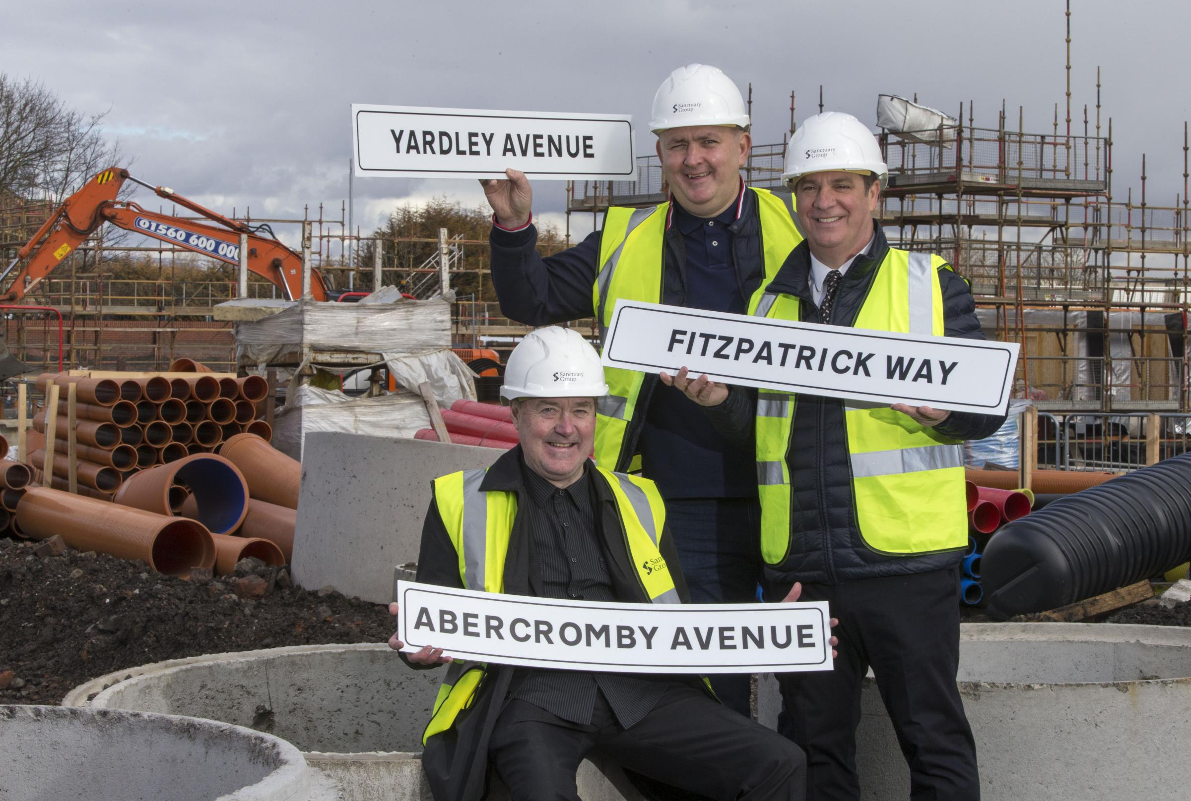 St Mirren legends Mark Yardley, Billy Abercomby and Tony Fitzpatrick's names will live forever on the old Love Street site