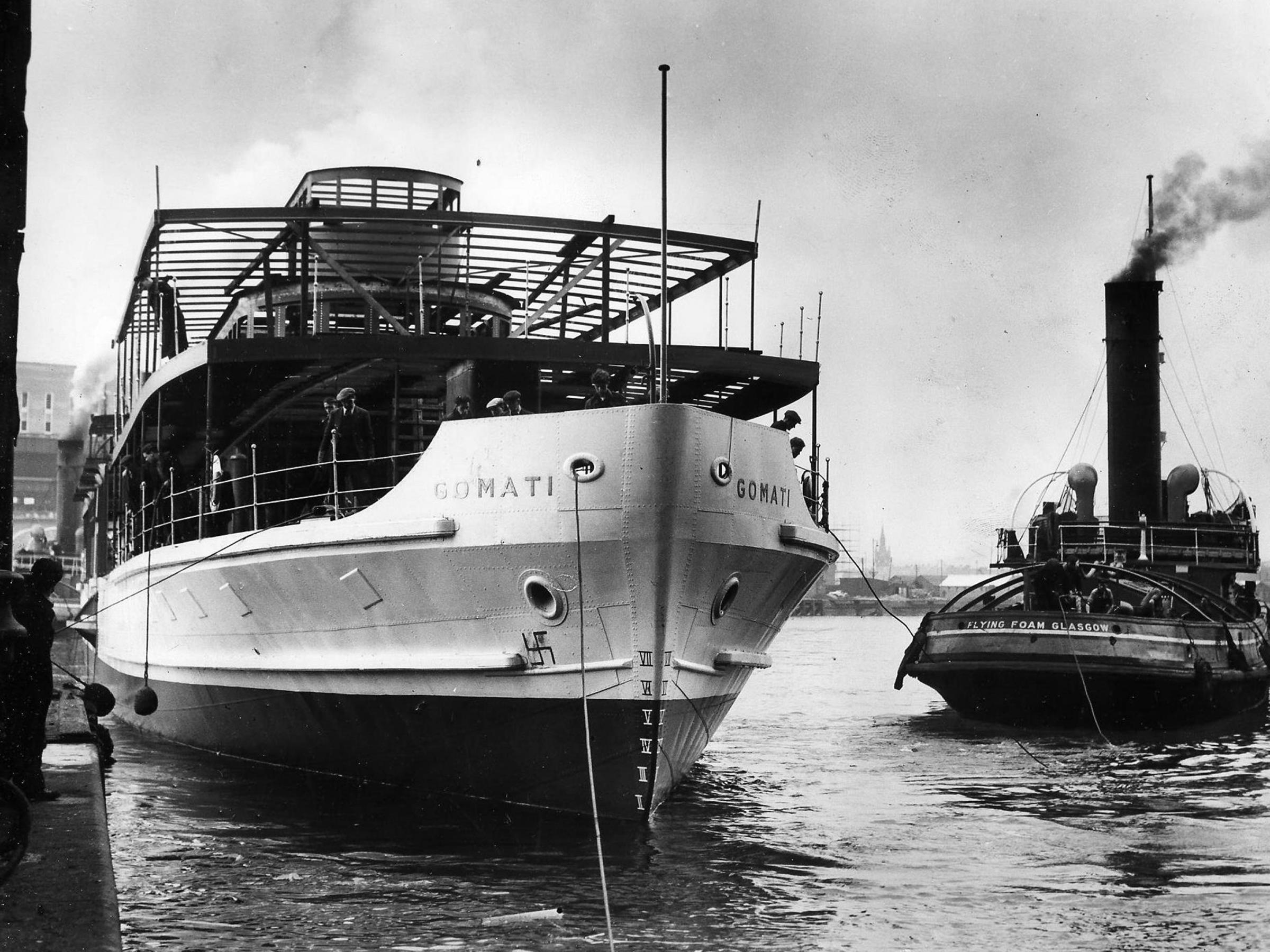 THOSE WERE THE DAYS1950: The paddle-steamer launched not with champagne but a coconut