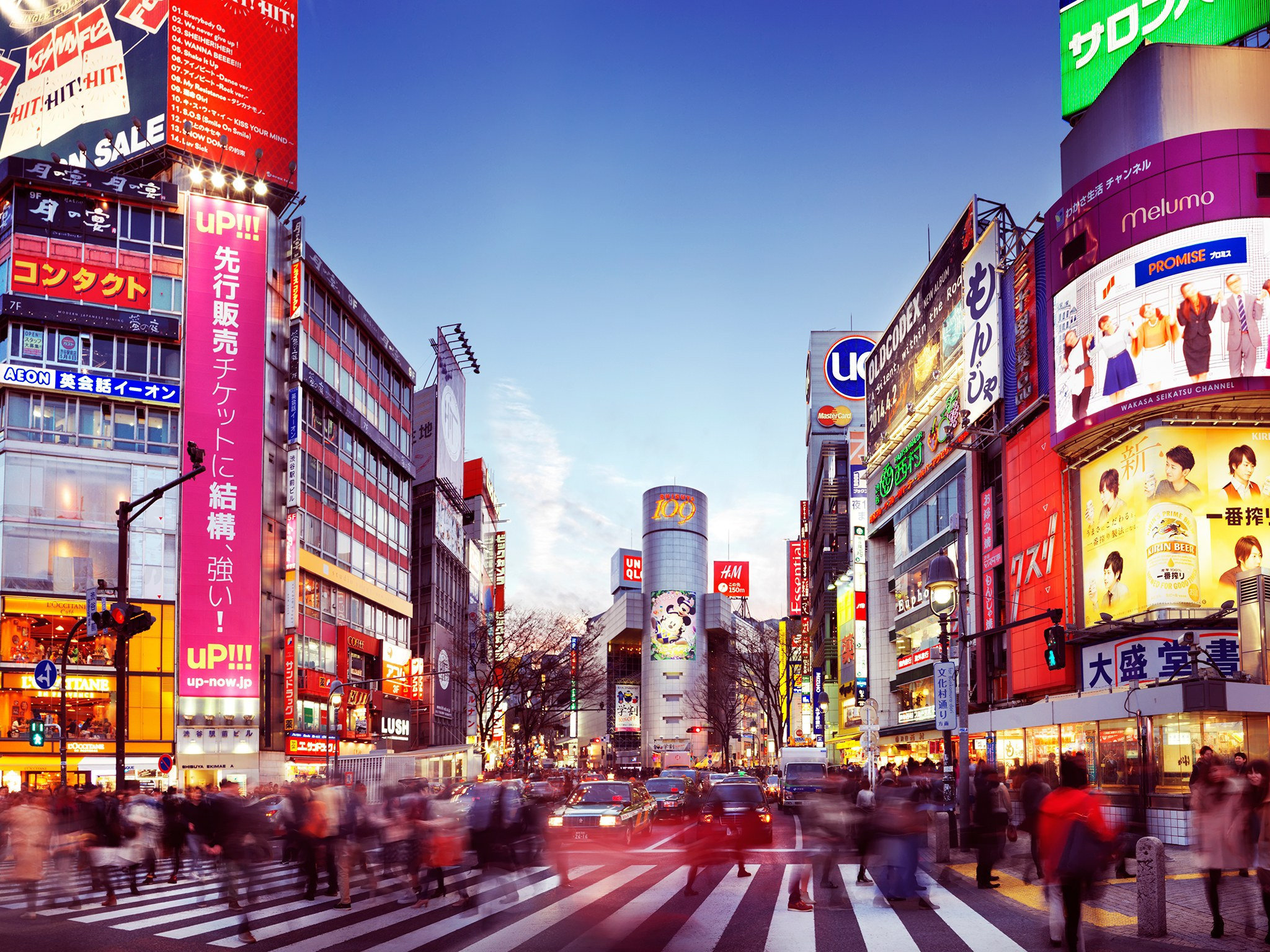 Tokyo nights: Neon lights, manicured ski resorts and hot springs