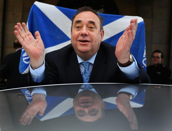 Alex Salmond. Picture: Getty Images