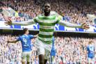 Celtic's Odsonne Edouard celebrates
