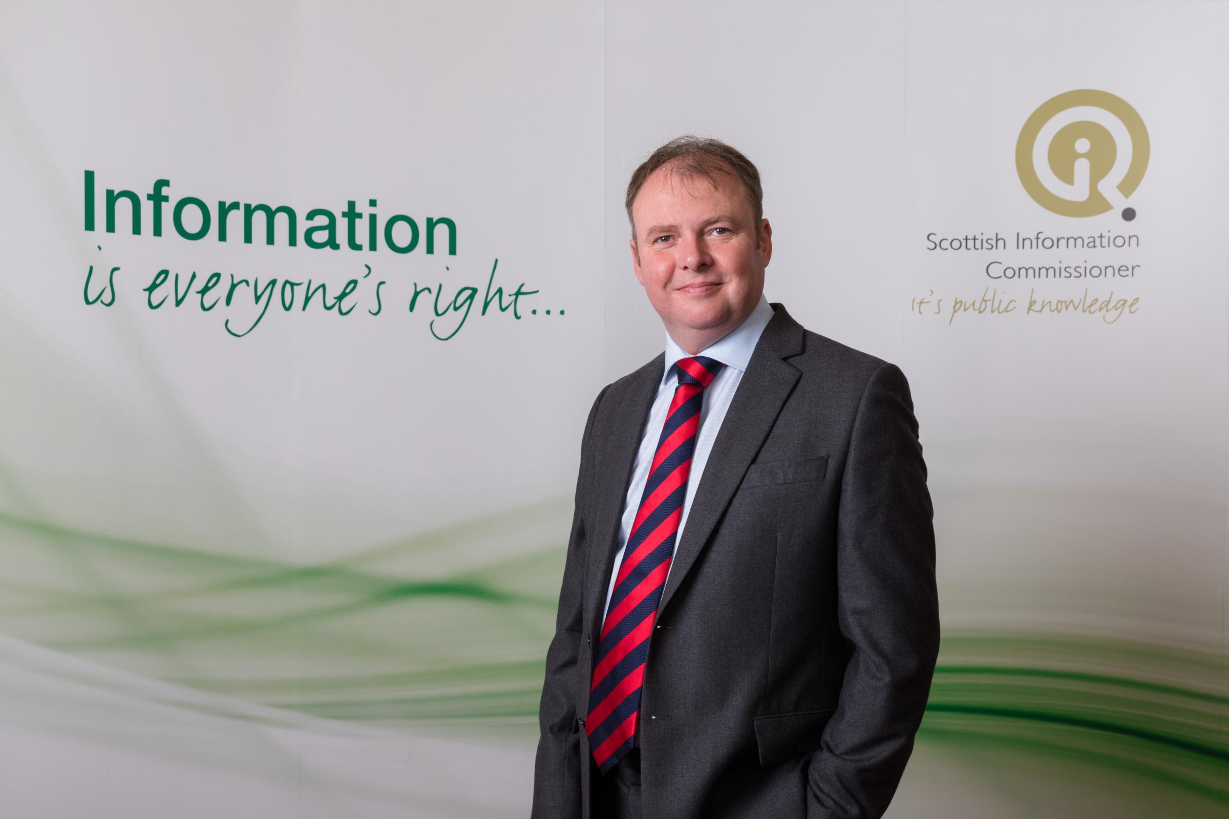 Daren Fitzhenry, Scottish Information Commissioner