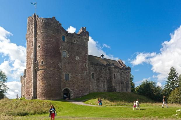 HeraldScotland: Doune Castle near Stirling saw the largest surge in visitor numbers – more than tripling from 38,081 to 124,341