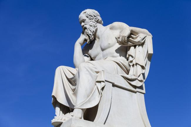 Food for thought: Ancient Greek philosopher Socrates described education as the kindling of a flame, not the filling of a vessel