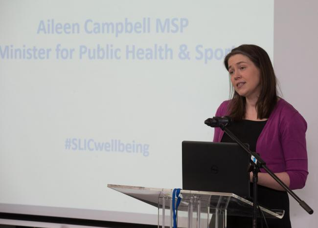 NEWS RELEASE.26 JANUARY 2018.Pictured Aileen Campbell MSP, Minister for Public Health & Sport, Scottish Government ..Public libraries join forces with NHS to improve nationâs health..Public libraries in Scotland are driving forward plans to establish mor