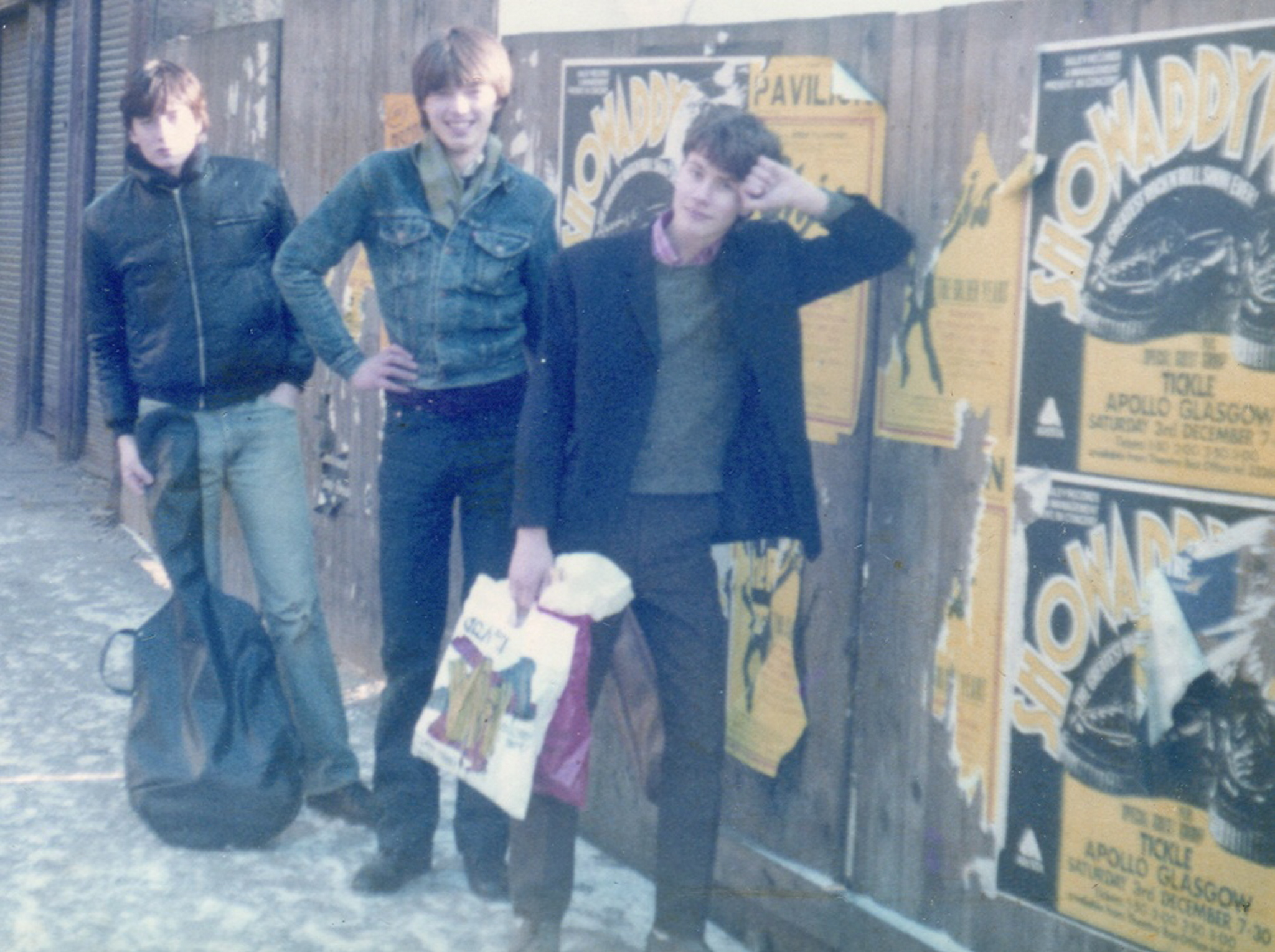 Early photograph of Orange Juice