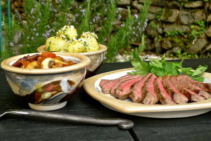 Recipe of the Day: Sirloin Nordic Tapas by Wendy Barrie