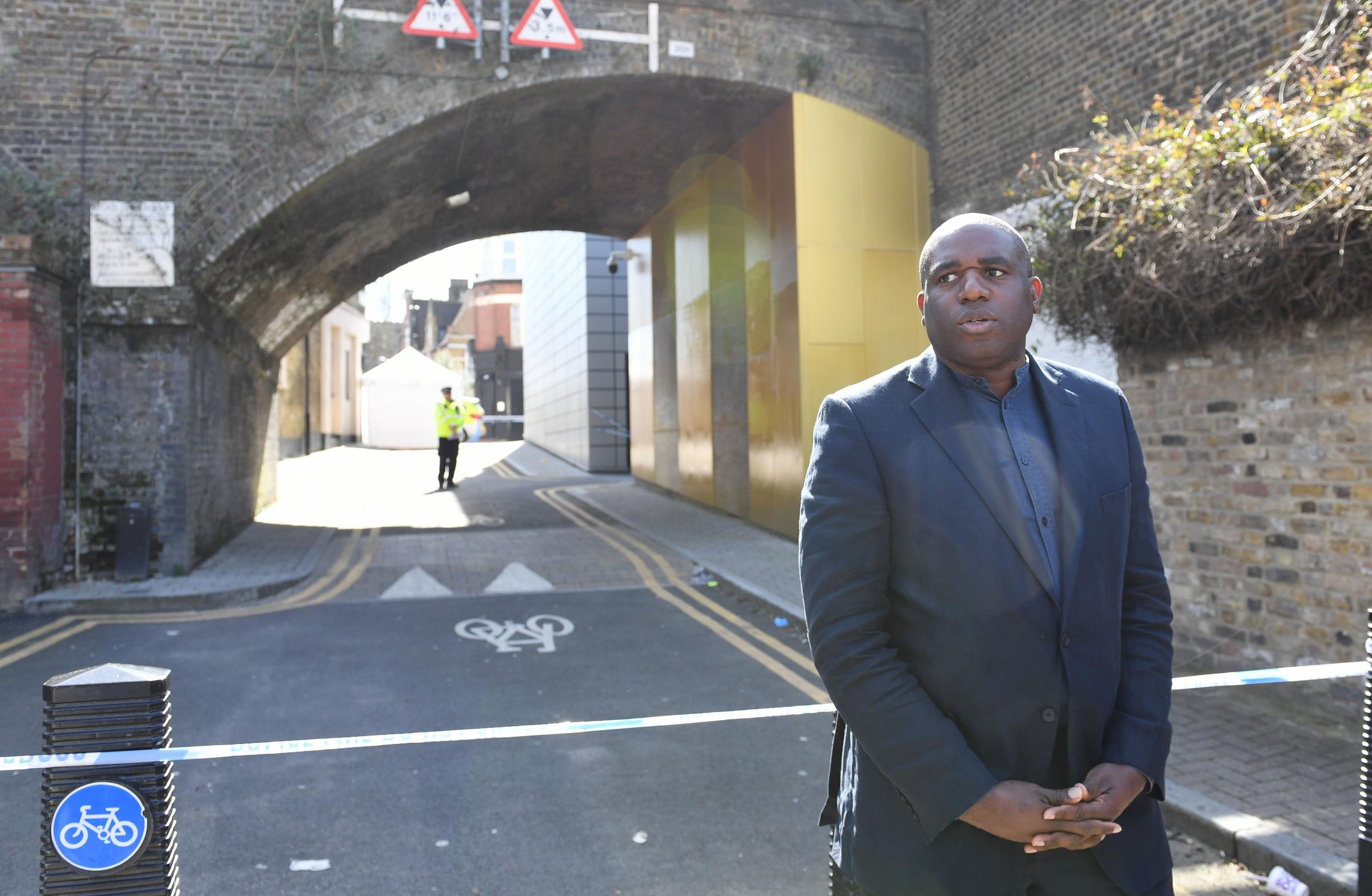 Crime epidemic: Lammy, at scene of another London stabbing, calls for political consensus