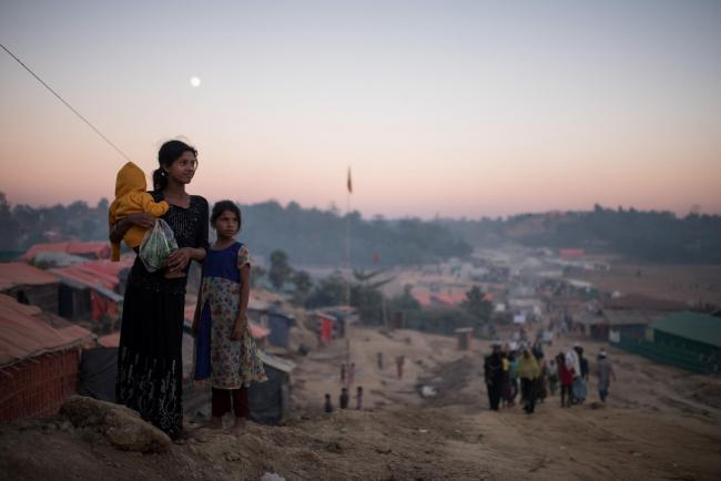 Refugees from Myanmar still need your help.  Picture: Ed Jones/AFP Getty Images