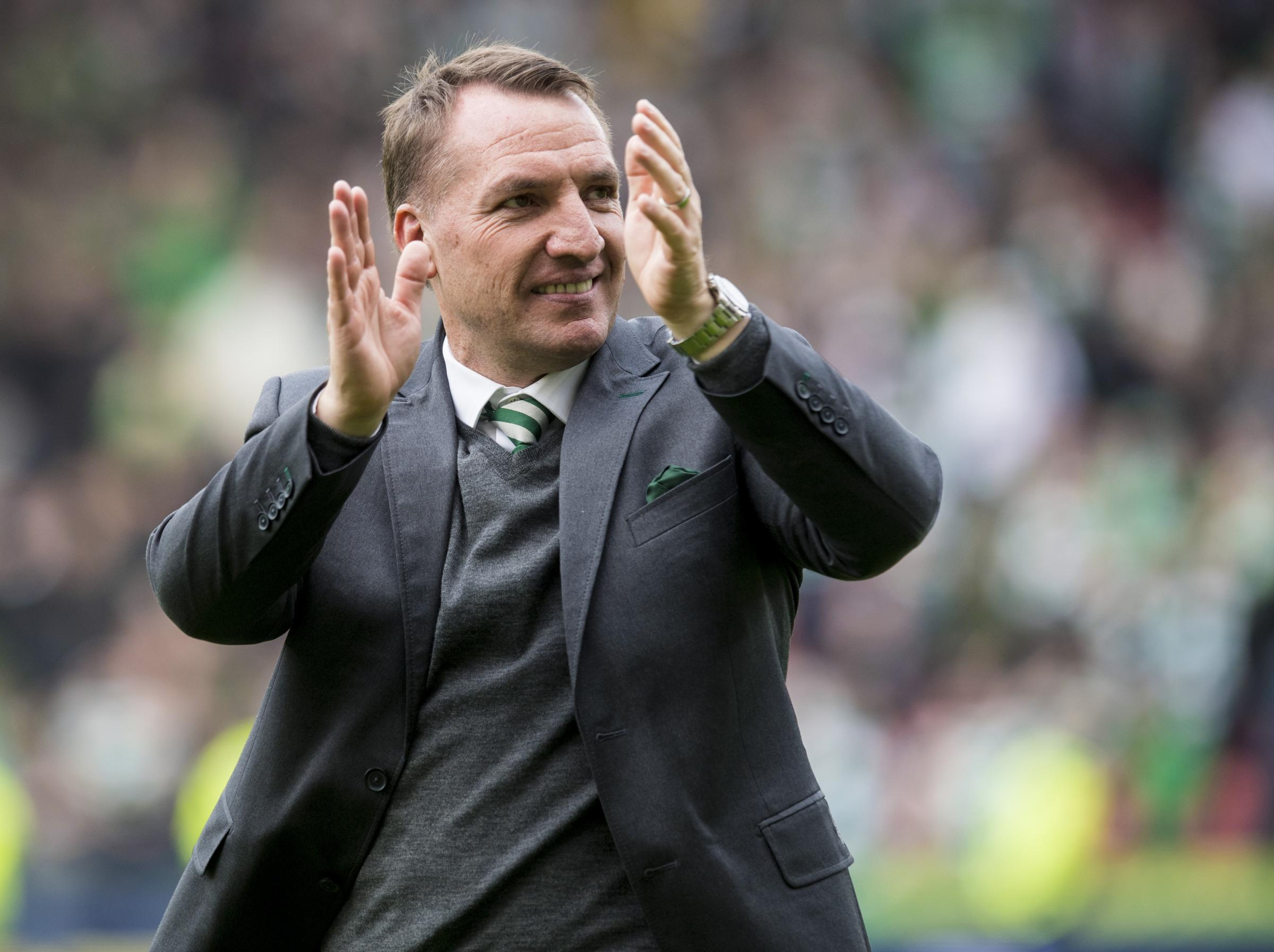 Celtic manager Brendan Rodgers has done his talking on the pitch