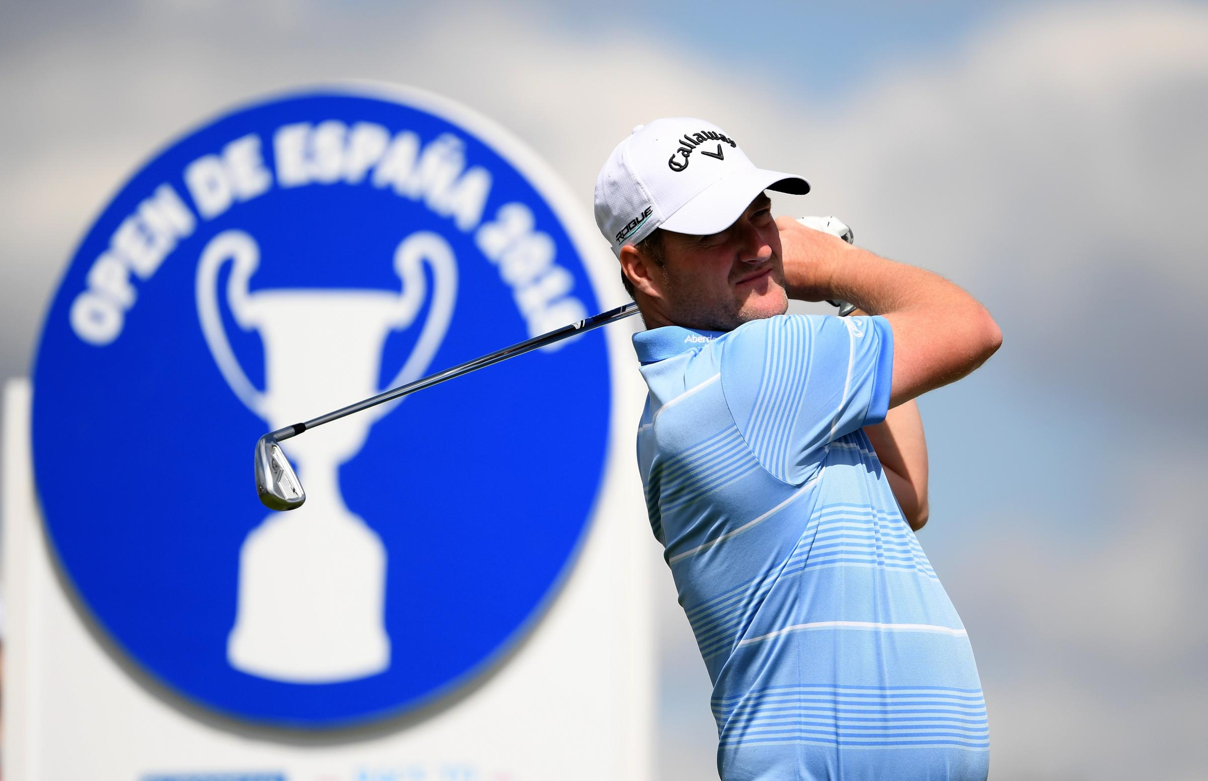On his Marc: Scotland's Marc Warren is looking forward to the Scottish Open (Picture: Getty)