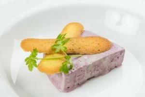 Recipe of the Day: Iced Elderberry Parfait by Neil Forbes of Cafe St Honoré