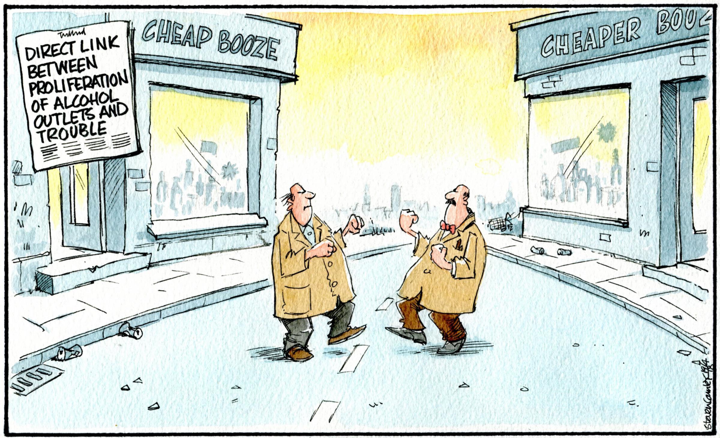 Camley's Cartoon on Thursday, April 19