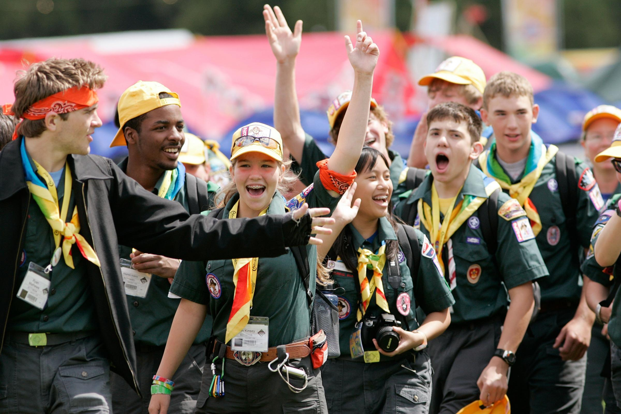 Scouting aims to build a range of skills including leadership