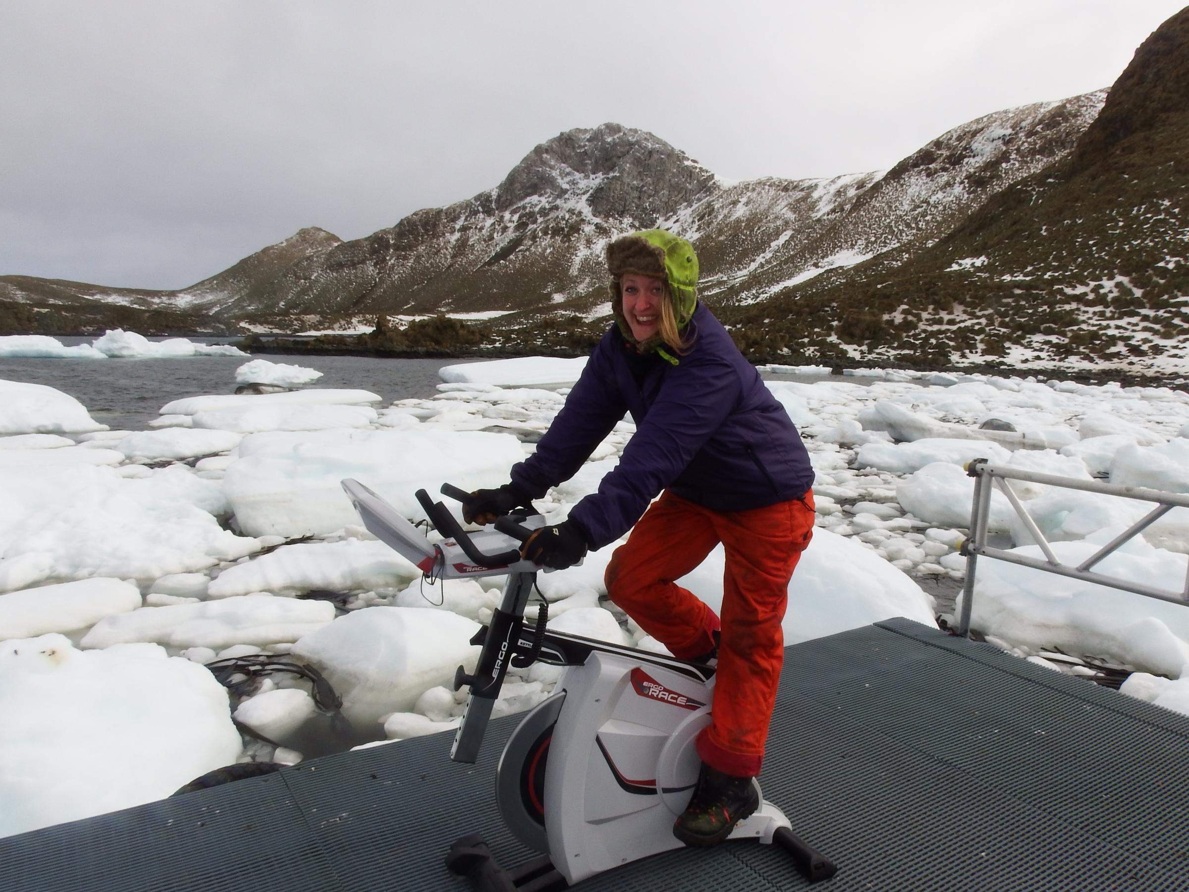 In from the cold: Scientist takes up post in Scotland after long spell in Antarctica