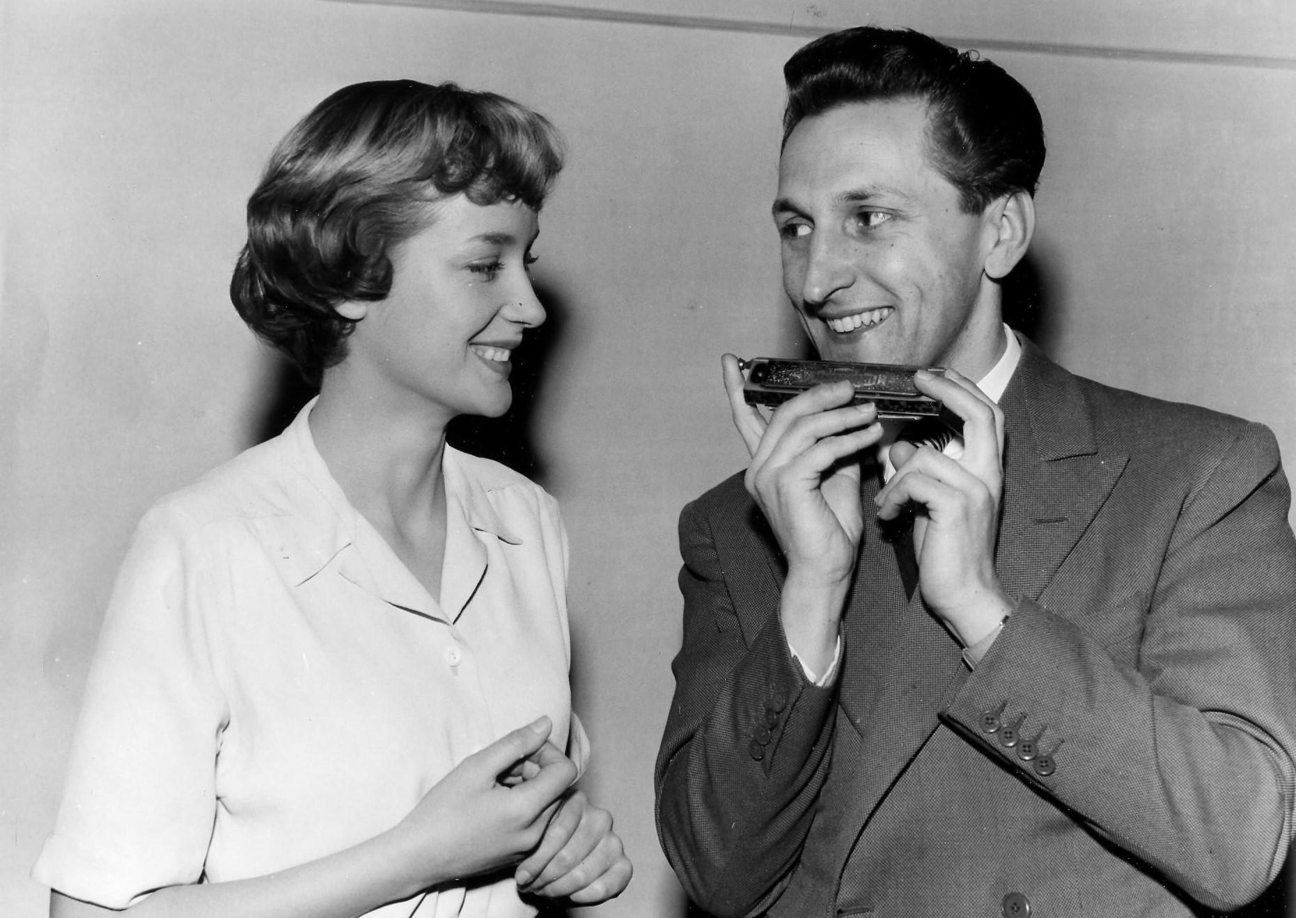 Ronald Chesney with Sylvia Syms
