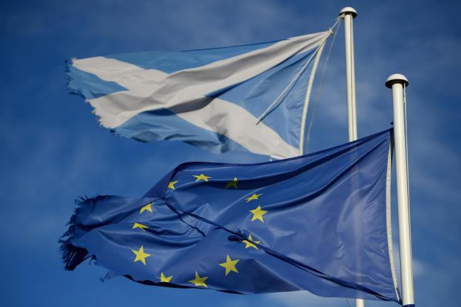 More than half of Scots think we would be better off in Europe, poll shows