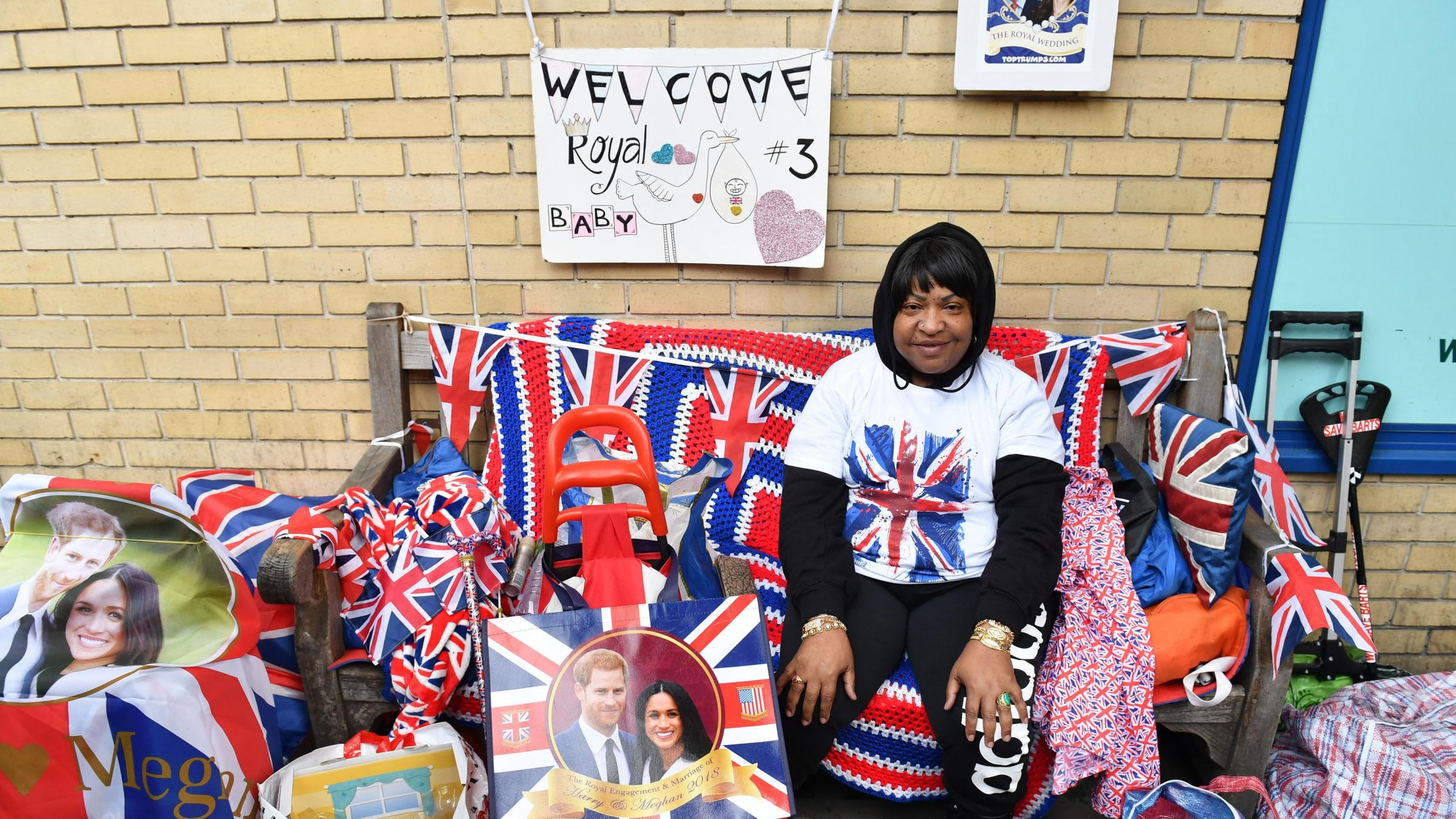 In Pictures: Excitement builds ahead of royal baby's birth