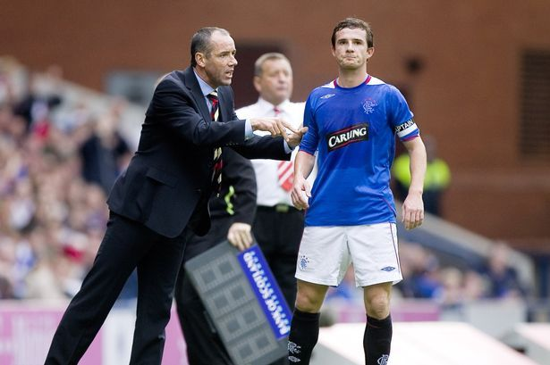 Barry Ferguson can sympathise with Lee Wallace and Kenny Miller.