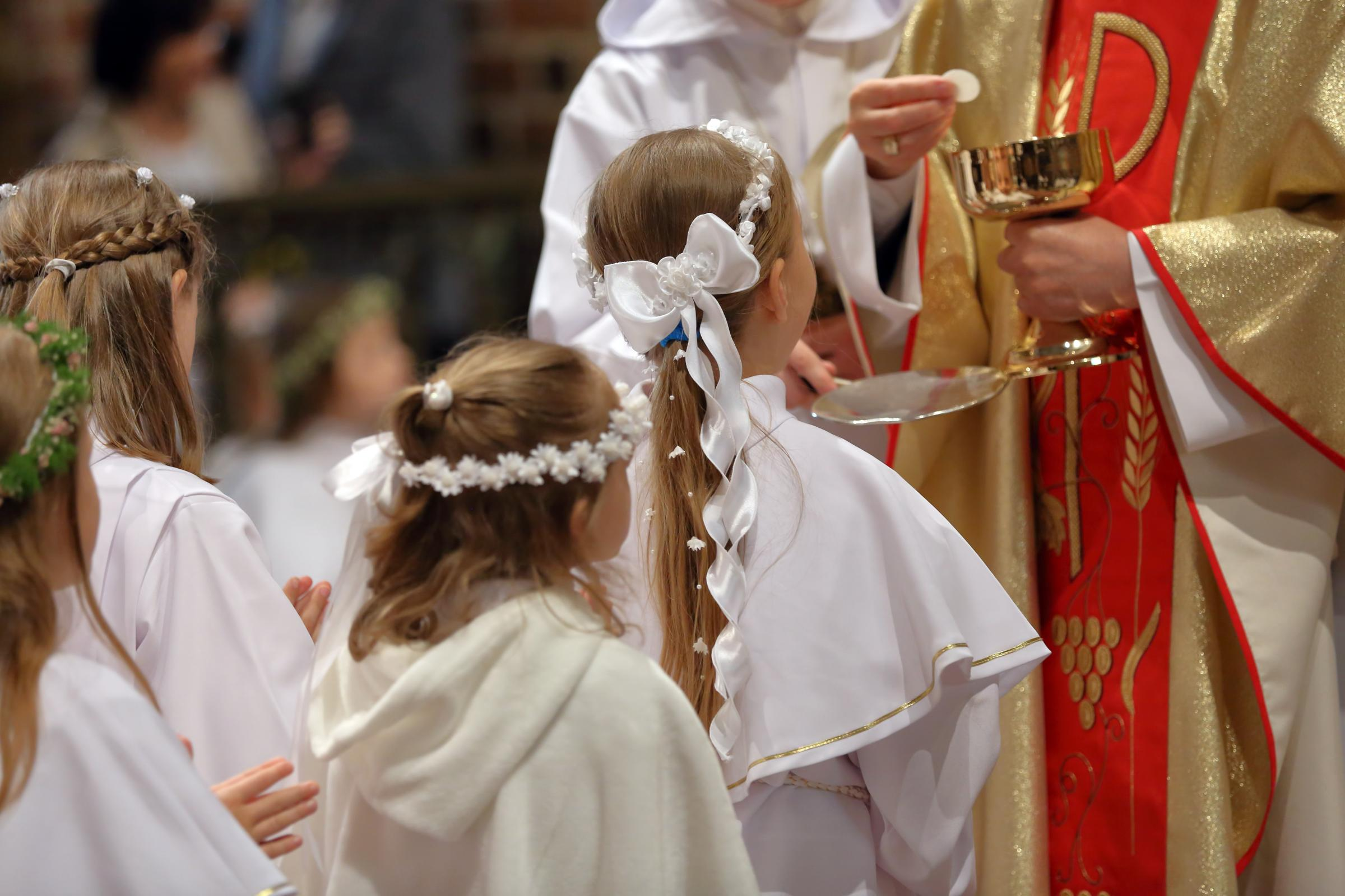 The Church carried out research on children and communion