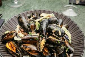 Recipe of the Day: Mussels With Cured Pig Cheek by White Horse Oyster & Seafood Bar