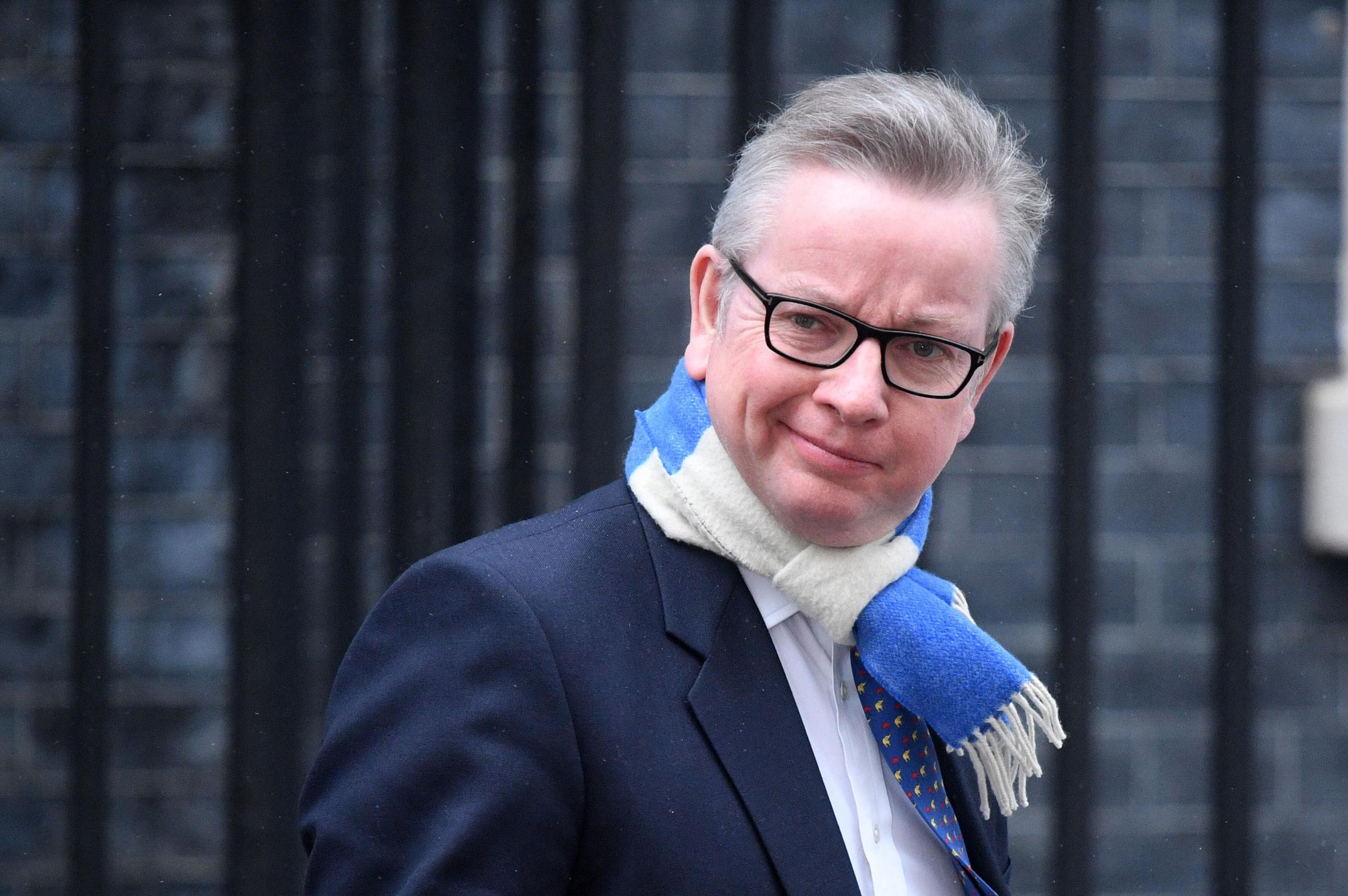 "File photo dated 01/03/18 of Michael Gove, as the Government has faced criticism over a ""lack of urgency"" in efforts to bring in a deposit return scheme for drinks bottles to reduce plastic waste. PRESS ASSOCIATION Photo. Issue date: Wednesday A"