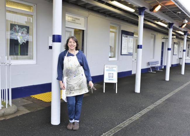 Kirsty Lorenz, who did up the old station restaurant at Ladybank