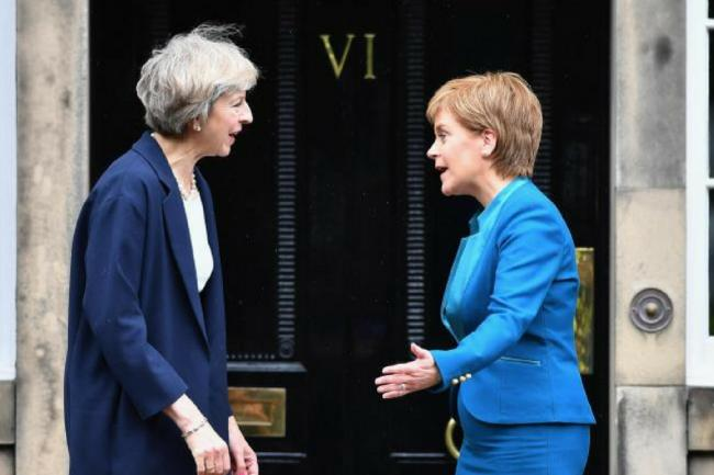 Iain Macwhirter: Sturgeon is all that stands between Scotland and May's power-grab
