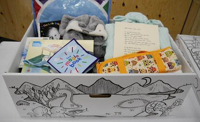 Baby boxes are offered to all expectant mothers in Scotland
