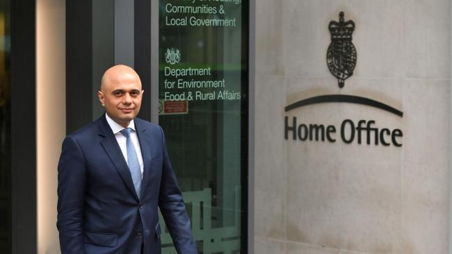 Sajid Javid appointed  as new Home Secretary after Amber Rudd resigns
