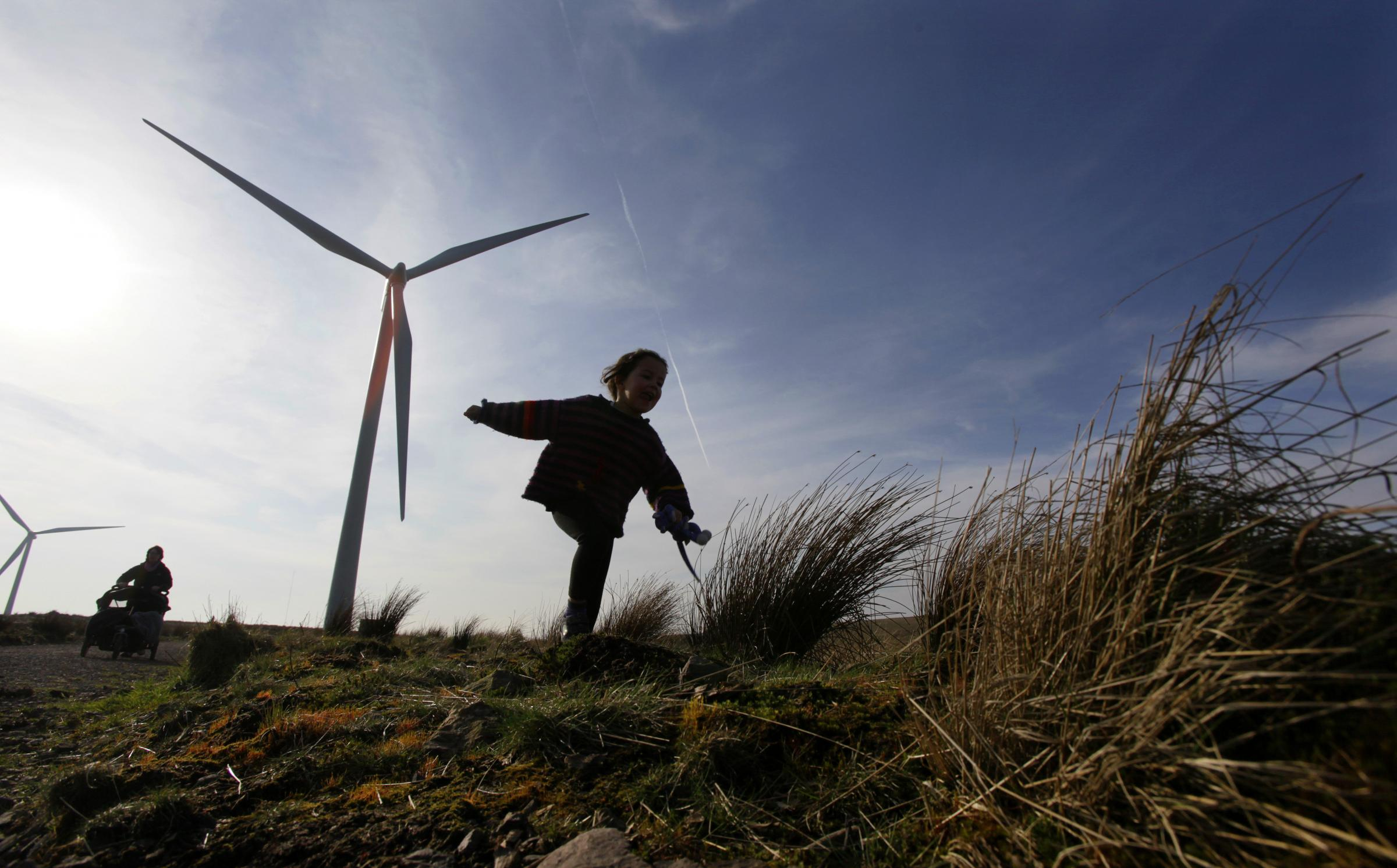 Scotland's islands are ideal locations for the development of wind power. Picture: Colin Mearns.