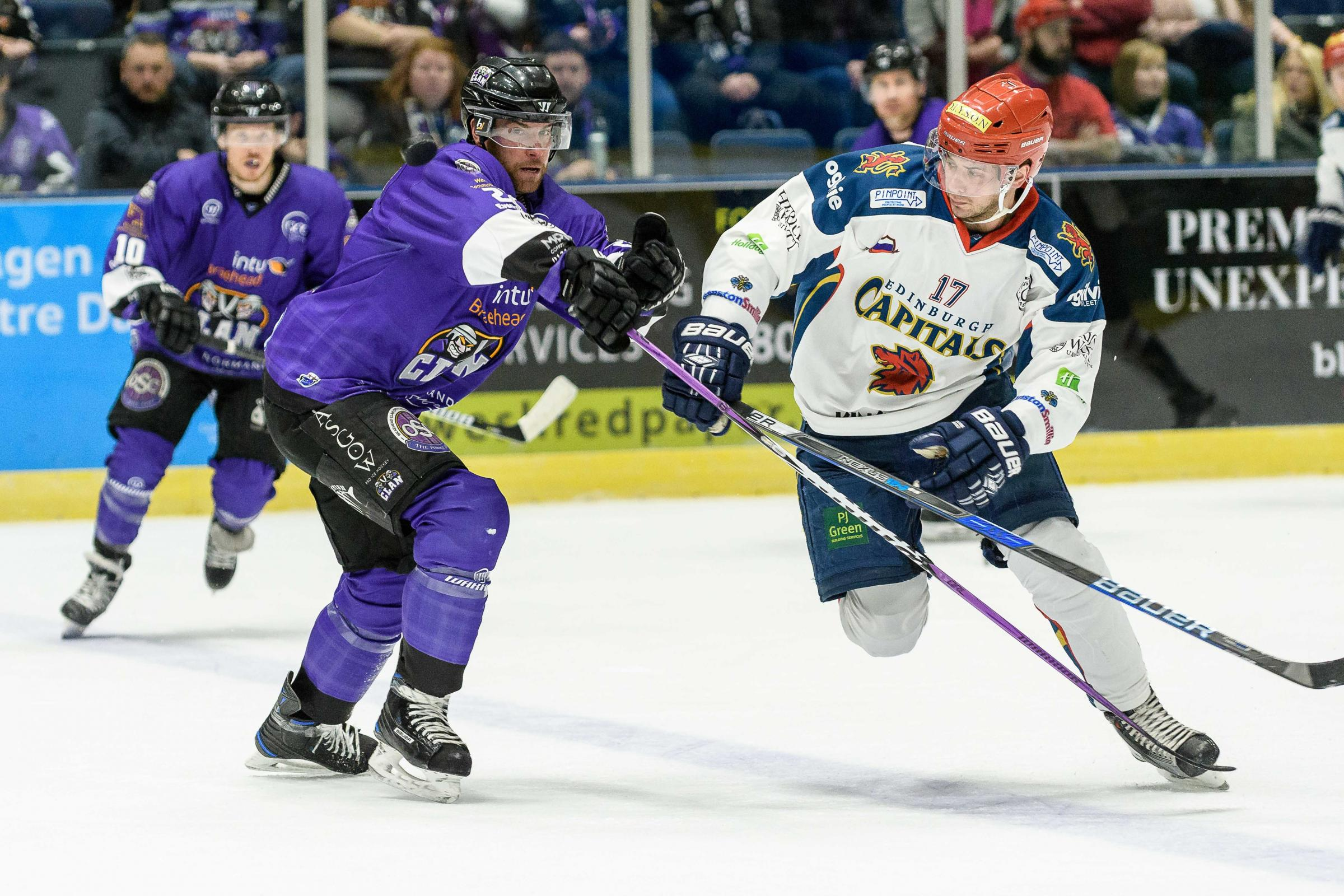 Edinburgh Capitals will not play in the EIHL next season. Picture: Al Goold