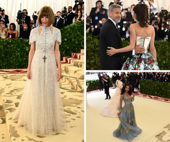 In pictures: Vogue chief Anna Wintour opens heavenly Met Gala