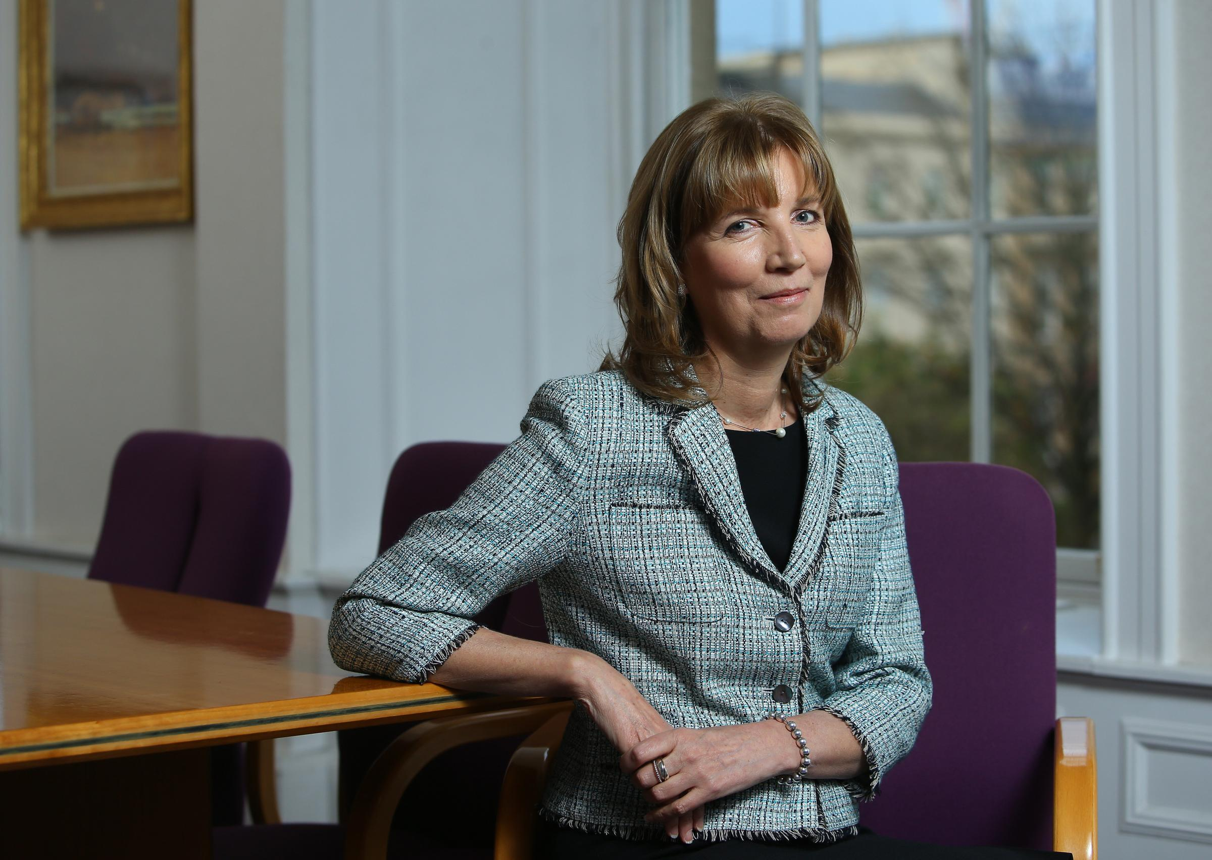 Scottish Mortgage chairman Fiona McBain highlighted the 'continual rise of China'.