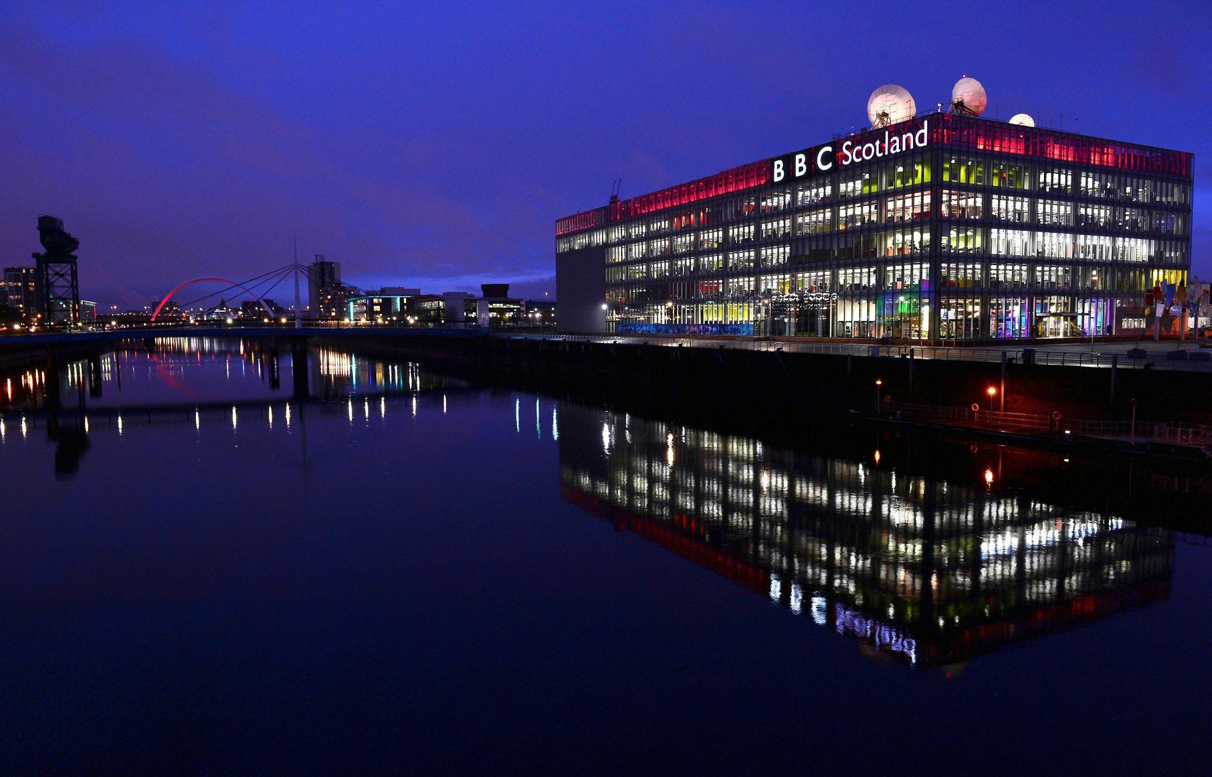 BBC Scotland headquarters at Pacific Quay in Glasgow (Photo by Jeff J Mitchell/Getty Images).