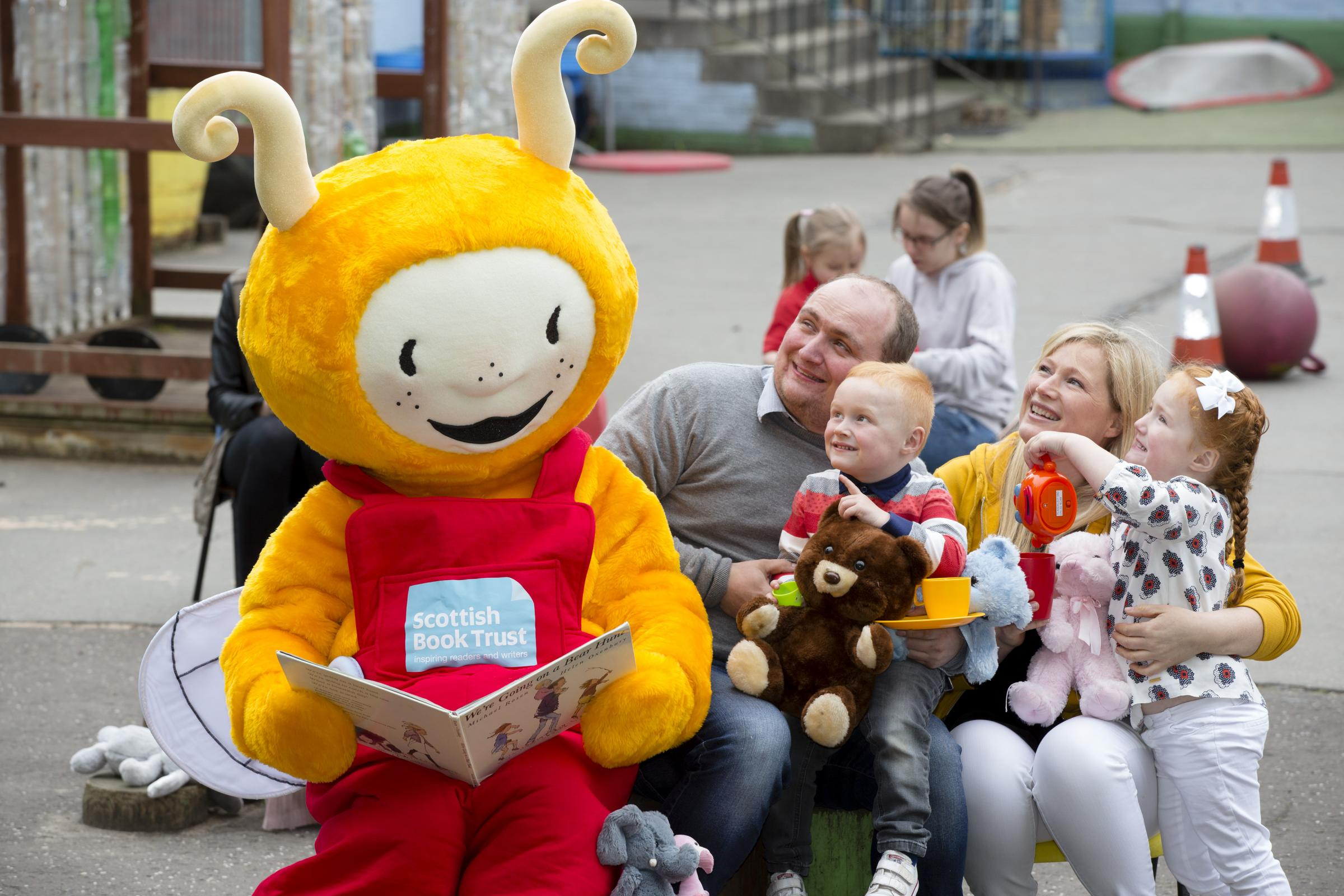 A Bookbug Session at the Bridgeton Family Learning Centre in Glasgow. Picture: Martin Shields