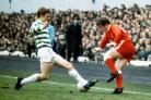 Joe Harper during the 1970 Scottish Cup final against Celtic