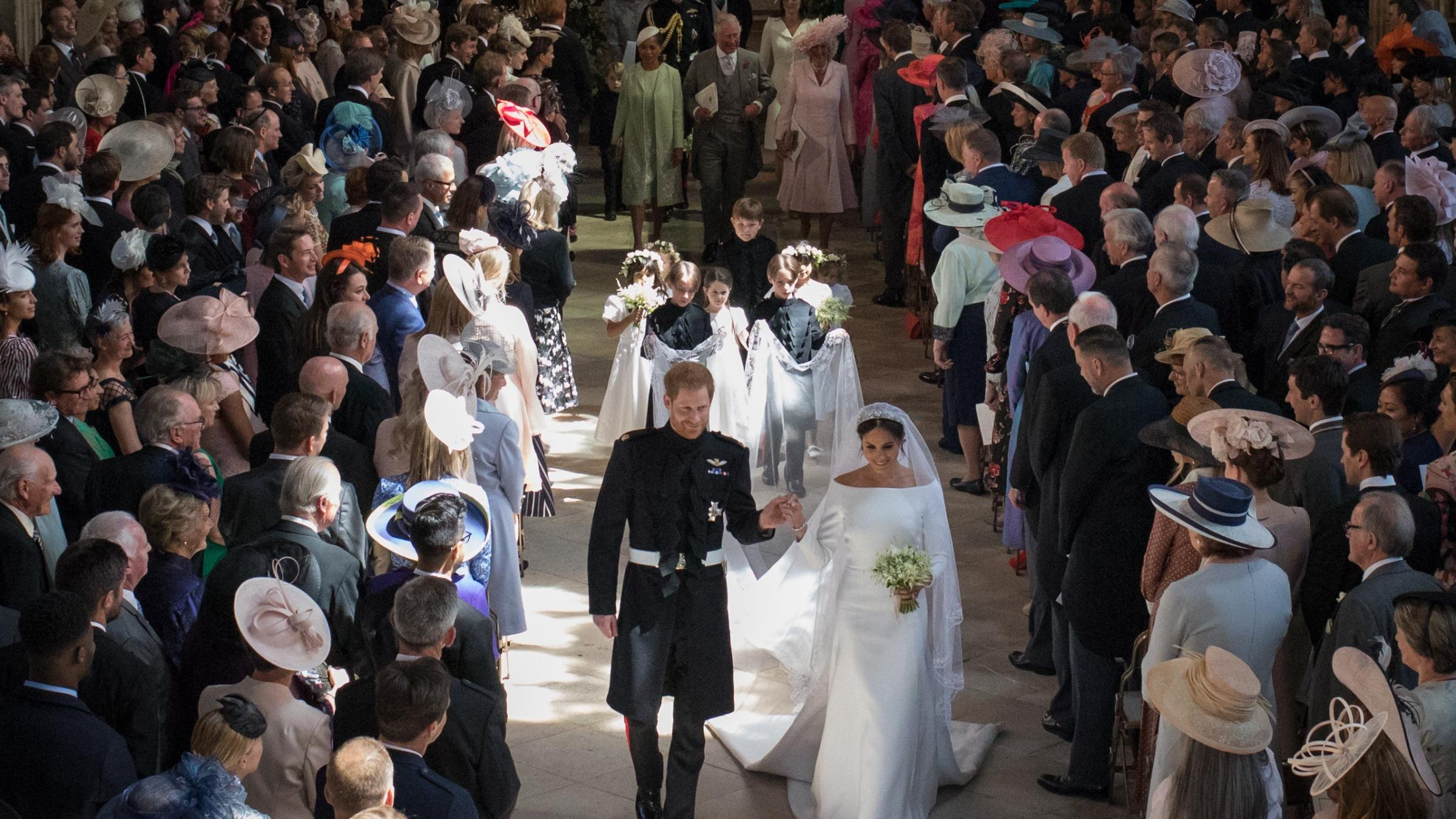 The royal wedding: Audience peaks with 13.1 million on BBC1