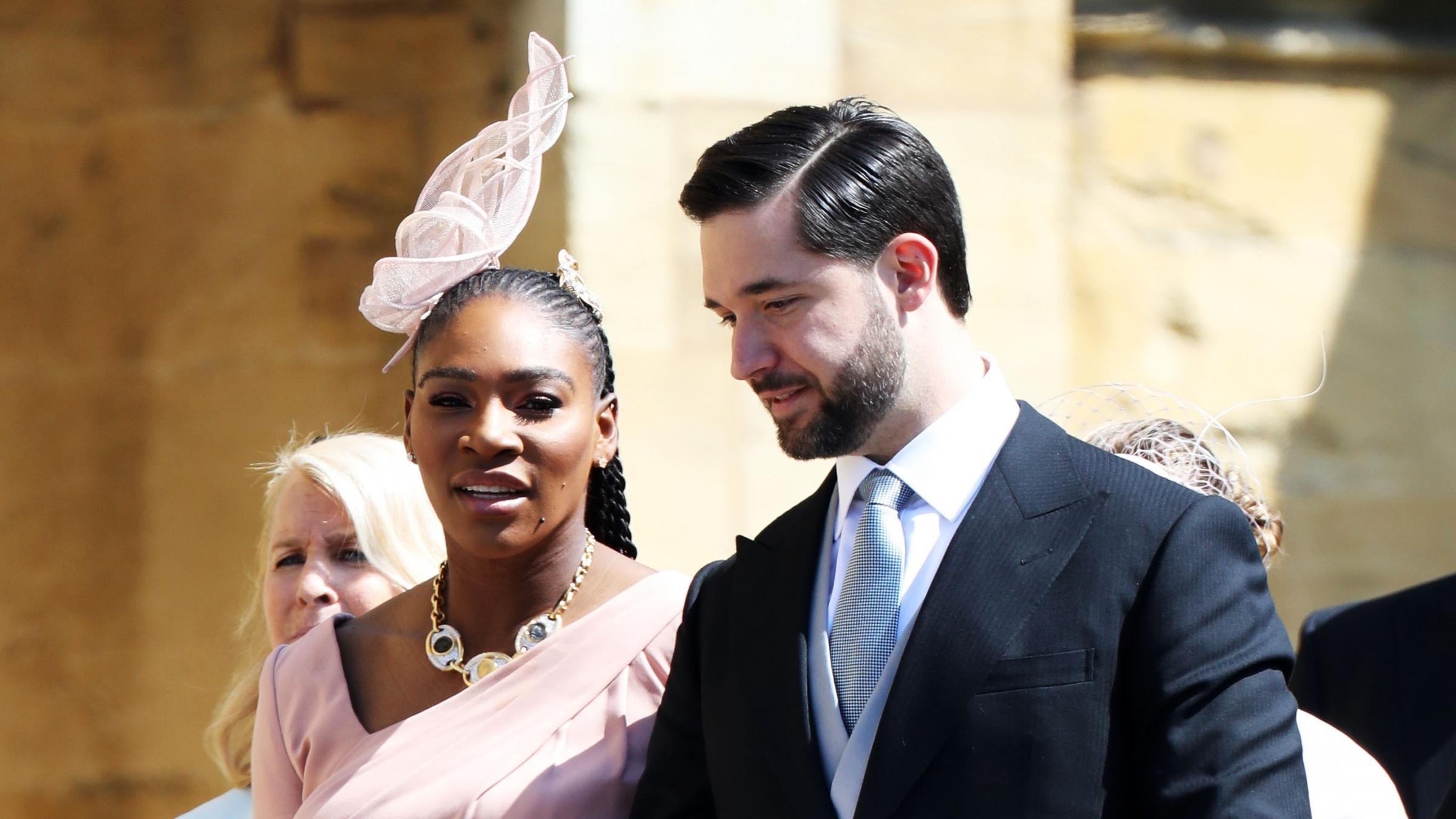 Serena Williams: I wore sneakers under royal wedding outfit