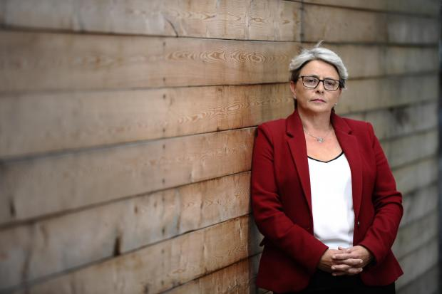 HeraldScotland: GLASGOW, SCOTLAND - AUGUST 03: Conservative Glasgow MSP Annie Wells poses for a photograph near her constituency office in Maryhill on Glasgow 03, 2017 in Glasgow, Scotland. Shot for a Sunday Herald profile by Paul Hutcheon (Photo by Jamie Simpson/Herald