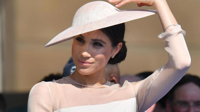Meghan shows love of British designers with 'elegant' Goat dress
