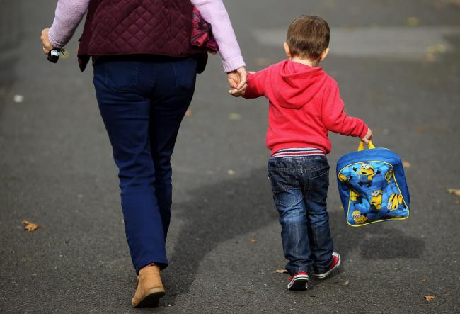 Younger children are to be allowed to go back to class as coronavirus transmission levels drop.
