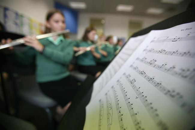 Too many pupils missing out on music lessons, says Tory MSP